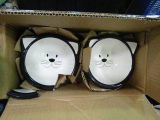 Elevated Cat Bowl Set