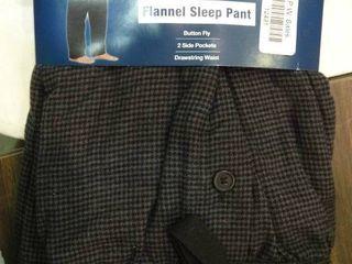 Pair of 3Xl Flannel Sleep Pants