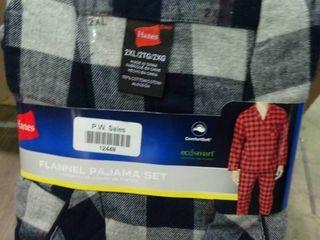 2Xl Flannel Pajama Set