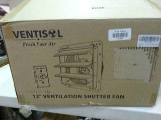12  Ventilation Shutter Fan