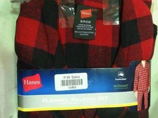 Small Flannel Pajama Set