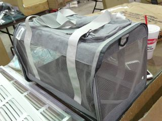Small Grey Pet Carrier