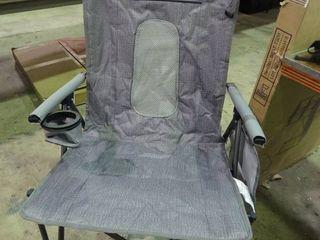 Grey Folding Outdoor Camp Chair   Nice