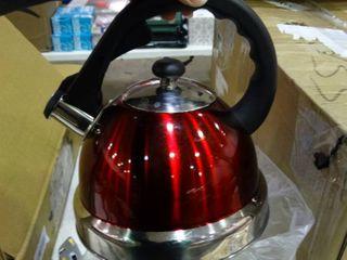 Red Mr Coffee Tea Kettle
