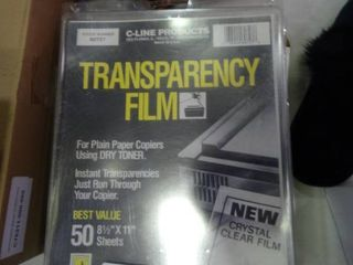 lot of Transparency Film