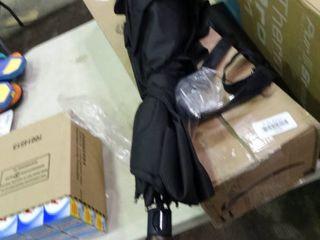 large Black Umbrella