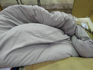 light Grey Papasan Chair Cushion