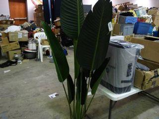 large Faux Decorative Plant