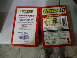 lot of 2 Attach It to Drywall Pro Packs