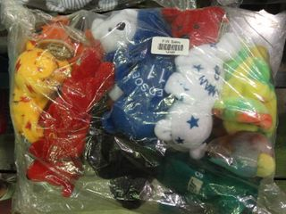 lot of Beanie Baby Baseball Bears