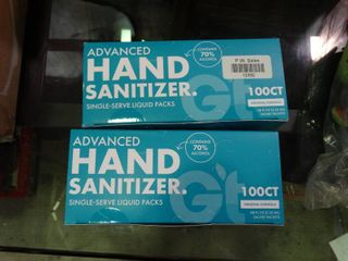 Hand Sanitizer lot