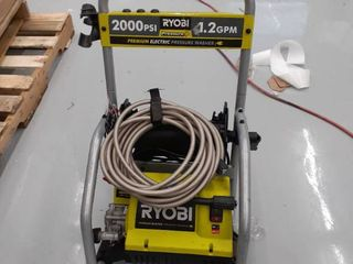 Ryobi Pressure Washer 2000psi 1 2 GPM MISSING parts  accessories