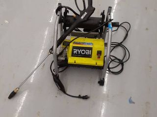 Ryobi Electric Pressure Washer 2000psi 1 2 GPM MISSING parts  accessories  NO HANDlE   NO WHEElS