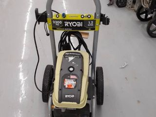 Ryobi Electric Pressure Washer 2300psi 1 2 GPM MISSING parts  accessories DAMAGED