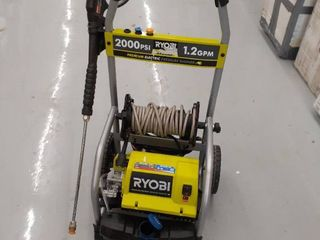 Ryobi Pressure Washer 2000psi 1 2 GPM might be MISSING parts  accessories