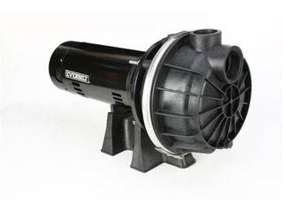 Everbilt 1 1 2 HP Plastic lawn Sprinkler Pump