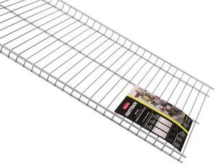 Rubbermaid Home Prod Dorfile FG5E2102SNCKl FastTrack 4  Wire Shelf