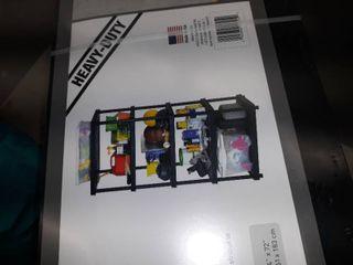 36  x 24   Storage Unit with 5 Shelves  Black Plastic