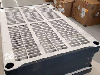 Storage Unit with Shelves DAMAGED