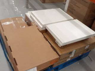 Pallet of Miscellaneous Shelving items