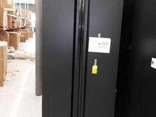 Husky Heavy Duty Welded Steel Garage Storage Cabinet 6  x 2 5
