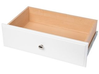 Easy Track White Deluxe Drawer  14 inch X 24 inch X 8 inch