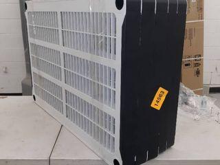5   Tier Garage Shelves  36 x 24 Inches  White