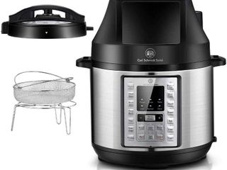 Carl Schmidt Sohn Electric Pressure Cooker and Air Fryer