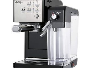 Mr  Coffee One Touch Coffeehouse Espresso and Cappuccino Machine