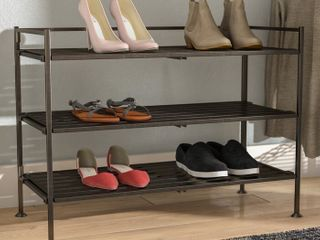 New in box 3 tier shoe rack