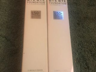 two tubes of make up foundation as a picture high dollar items