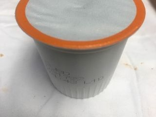 Bulk lot of 100 individual cups of coffee the kind you use in the individual cup coffee systems system
