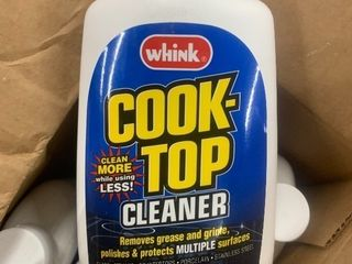 Case  6  15 ounce bottles of cook top cleaner as pics high Dollor Item