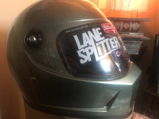 New full face motorcycle helmet with shield as pictured