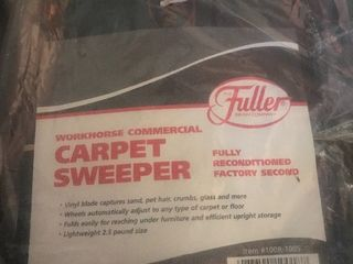New fuller carpet sweeper