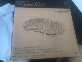 Pampered chef potato chip maker