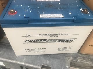 New commercial grade power sonic battery look up product number for description picture I have some listed high dollar battery retails for over  350
