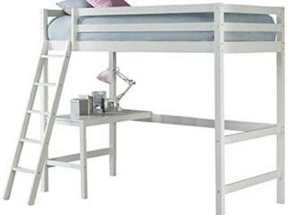 Hillsdale Furniture Caspian Twin loft Bed  White