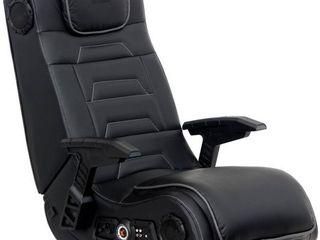 Gaming Chair  ACE BAYOU X Rocker Gaming Chair   Black White