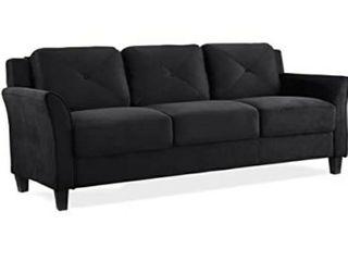 Hartford KD Sofa Microfiber Grade 26 Black