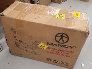Marcy Recumbent Exercise Bike  ME 709 USED