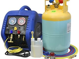 Mastercool 69110 Automotive A C Recovery System Blue