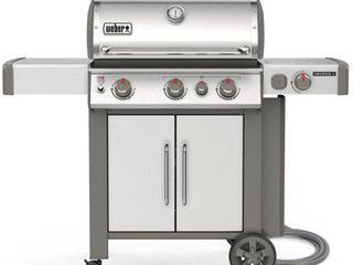 Weber Genesis II S 335 NG 66006001   Silver
