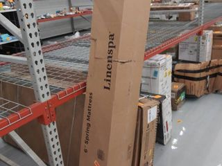 linenspa 6  Traditional Innerspring Mattress in a Box king