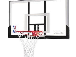 Spalding NBA 52  Acrylic Basketball Backboard   Rim Combo Hoop