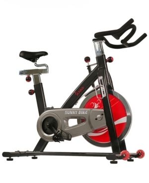 Sunny Health   Fitness SF B1002 Belt Drive Indoor Cycling Bike   Not Inspected