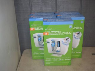 5 Nexy by Danco Total Repair Kit 2  Dual Flush Valve and Premium Fill Valve Kits