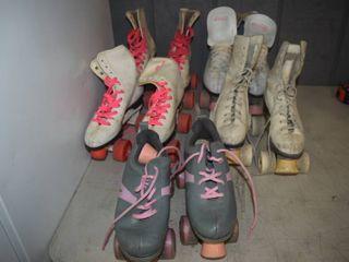 5 Pairs Roller Skates