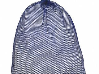 12 Pack Medium Weight Polyester Rubber Closure Mesh laundry Bags   36  x 24