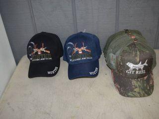 18 Ball Caps   Heavy Caps with Velcro Closure